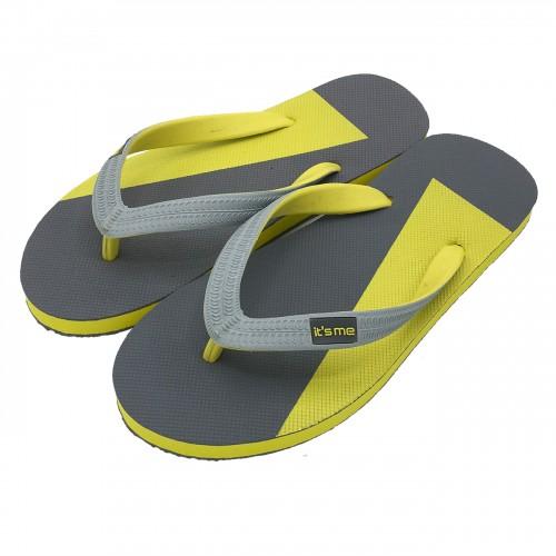 Flip Flops, Größe 40-42, Farbe Gelb/Blau